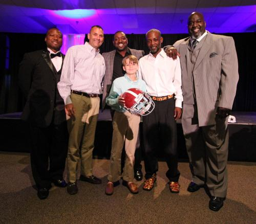 2017 Dinner with Emmitt Smith