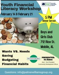 LSW Financial Literacy Flyer